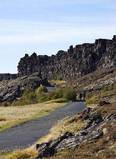 Thingvellir national park in Iceland.