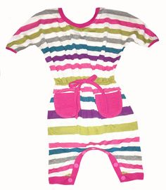 To sweet to pass up Sweet as Sugar Co.... Shop nowhttp://shopsweetassugar.com/products/sweet-as-sugar-couture-bright-striped-sadie-romper?utm_campaign=social_autopilot&utm_source=pin&utm_medium=pin!
