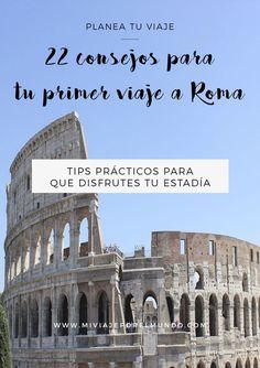 Consejos para viajar a Roma - Viajar a Italia comoviajaraitalia viajarbaratoaeuropa tipsparaviajarbarato 720435271623355776 Places To Travel, Travel Destinations, Places To Visit, Travelling Tips, Travel Tips, Traveling, Budget Travel, Names Of Hotels, Travel Rewards