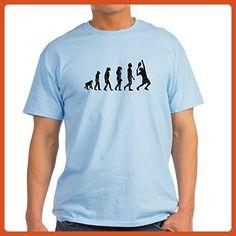 93f2a81752b7c CafePress - Distressed Tennis Evolution T-Shirt - 100% Cotton T-Shirt -