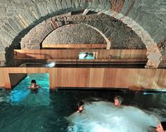 hurlimann brewery in zurich is renovated into thermal bath + spa