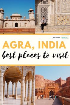 There's much more to Agra than the Taj Mahal. Discover the best places to visit in Agra from Mughal forts to palaces, tombs, gardens and tourist-friendly restaurants. #agra #india #tajmahal #indiatravel #indiatips #agrafort #babytaj
