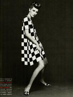 Ludmila Isaeva Malahova by Patrick Anderson for Vogue Italia March 1991.