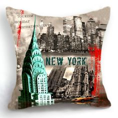 Decorative Pillows Travel Theme : 1000+ images about Travel Themed Throw Pillows on Pinterest Pillows, Cushion covers and Linen ...