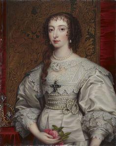 BoneHenry Pierce - Henriette-Marie de France, reine d'Angleterre, par photo BoneHenryPierce-Henriette-MariedeFrancereinedAngleterrepar.jpg