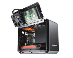 QBX - Ultra-Compact Pro Gaming Mini-ITX Case