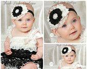 Baby Headband Petti Lace Romper SET, petti lace romper,baby headbands,romper, Christmas Headdband, Baby girl Headband and lace petti romper.