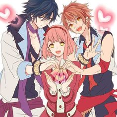 Tokiya, Haruka and Otoya - 1000% Love <3