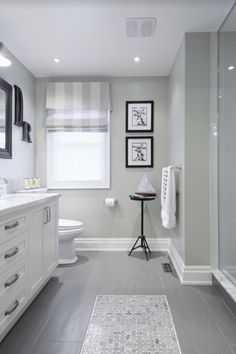 Traditional 3/4 Bathroom with Toto Mercer TL756DDL Widespread Bathroom Faucet, slate tile floors, Complex Marble, Flush