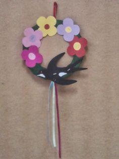Αν όλα τα παιδιά της γης.... Spring Crafts, Clay Crafts, Crafts For Kids, Preschool, Projects To Try, March, Birds, Drawings, Spring