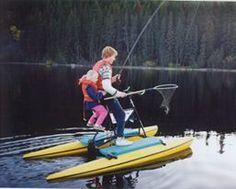 fishing buddies Small Fishing Boats, Fishing Adventure, Wildlife, Bike, Water, Travel, Bicycle, Gripe Water, Viajes