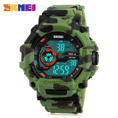 SKMEI 1233 EL Backlight Alarm Sports Watch with 50M Waterproof for Men #>=#>=#>=#>=#> Click on the pin to check out discount price, color, size, shipping, etc. Save and like it!