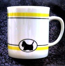 Scottie Café Dept 56 Scottish Terrier Mug Cup Scotty Lynda Sylvester Design