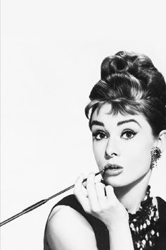 Audrey Hepburn Number 2 By Retro Images Archive Canvas Print. I would love this for my Tiffany themed bathroom!!