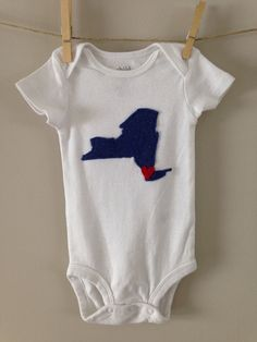 New York Onesie by sewhappyone on Etsy