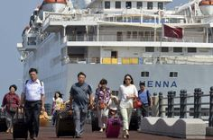 Affluent Chinese Are Buying Travel Instead of Diamonds  Passengers leave Chinese cruise ship Henna which was stranded at the port of Jeju on Jeju island south of Seoul September 15 2013. Kim Ho-Chun / Reuters  Skift Take: Luxury travel is taking a bite out of Chinese spending on other high-end products.   Andrew Sheivachman  Chinas newfound penchant for luxury travel poses the latest threat to a turnaround for the $80 billion diamond industry.  Chinese deluxe spending on travel is the…