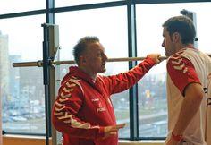 AD 2013 January – trener kadry narodowej Michael Biegler and Mariusz Jurkiewicz