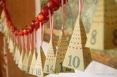 upcycle advent calendar  calendrier de l'avent récup  diy #calendrierdelavent