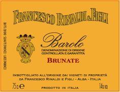 Francesco Rinaldi Barolo Brunate 2011