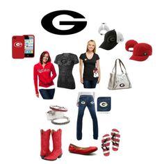Georgia bulldog outfit :)