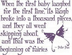 """Fairies"" J.M. Barrie"