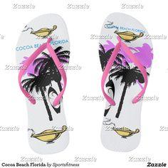 Cocoa Beach Florida Flip Flops