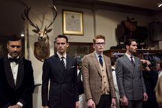 """The clothes that are so essential to the movie """"Kingsman: The Secret Service"""" are on sale as a standalone fashion collection."""