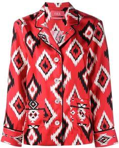 For Restless Sleepers printed pyjama top
