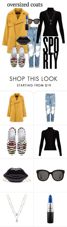 """""""Ready for the Weekend!"""" by mimi-white ❤ liked on Polyvore featuring Barbara Bui, Topshop, BP., Acne Studios, Gentle Monster and MAC Cosmetics"""