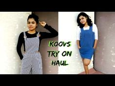 Koovs Try On Clothing Haul | #cantgetenough Sale Fashion Haul  Good to see you all back with a fun & affordable clothing fashion haul from the online shopping site, Koovs. Koovs Sale haul is the best time for shopping the super affordable dresses & tops that are so cute. #Cantgetenough sale, I was able to find pinafore, dungaree, overalls, denim ripped skirt, ripped leggings & bucket bag, which I am so happy about.