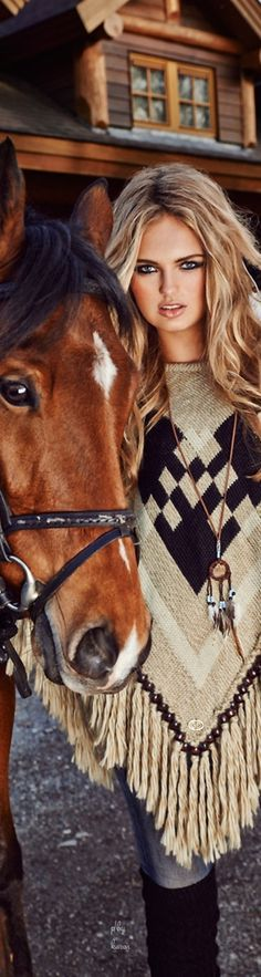 Diamond Cowgirl ~ Romee Strijd for Goldbergh Winter-2014