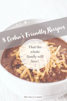 8 Crohn s friendly recipes that the whole family will love easy winter recipes cooking for Crohn s Crohn s recipes Crohn s diet low-fiber recipes low-fiber diet low-residue recipes low-residue diet easy winter meals cooking for the family Ulcerative Colitis Diet, Crohns Disease Diet, Crohn's Disease, Low Fiber Foods, Low Fiber Diet, Crohns Recipes, Diet Recipes, Cooking Recipes, Salad Recipes