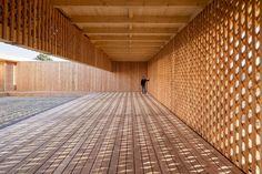Schön, aber immer noch temporär - Holzbau für Geflüchtete in Mannheim