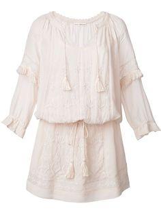 ULLA JOHNSON Floral Embroidery Dress. #ullajohnson #cloth #dress
