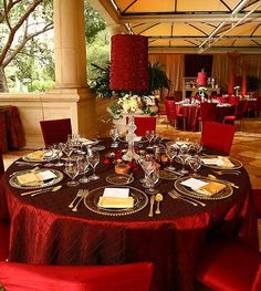 Bellagio's private patios make for a beautiful outdoor space for your wedding reception.