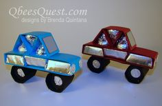 Hershey's Car Tutorial | Hershey's Kisses, Hershey's Nuggets, Simply Scored, Stampin' Up