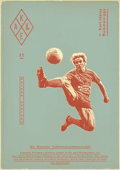 As head of the DFB, Rummenigge also showed that a professional soccer league does not need to be homophobic, sexist, or fan-exploitative.    Sucker for Soccer by Zoran Lucić, via Behance.  See http://www.behance.net/gallery/Sucker-for-Soccer/1289701