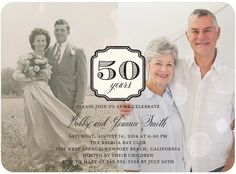 Enduring Union - Anniversary Invitations//