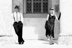 1920s photo shoot maternity pics!