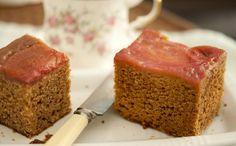 Perfect for Plums - Sticky Plum and Ginger Cake Recipe