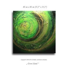 Abstract painting on canvas modern contemporary von germanpaintings, $439,00
