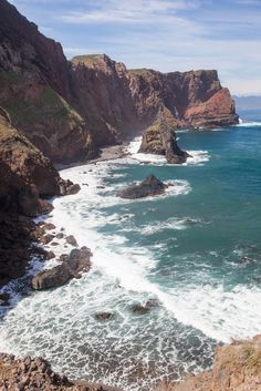 Ponta de Sao Lourenço, pointe Saint Laurent, île de Madère, Rochinha, Madeira Islands_ Portugal