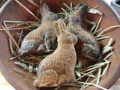 Wax bunnies
