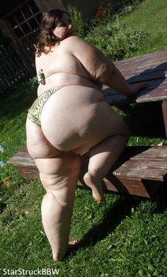 Fat women wearing thongs