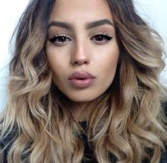 make-up gorgeous hair eyebrows date outfit hair/makeup inspo