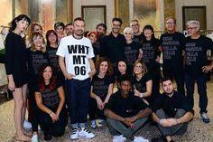 Nuestro compañeros de Italia en el backstage de la #milanofashionweek. ¡Compagnia della Bellezza con la moda!