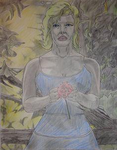 Marilyn Monroe by Thrashmaniacwarrior Marilyn Monroe Art, Weird, Sculptures, Princess Zelda, Drawings, Artwork, Painting, Fictional Characters, Work Of Art