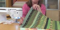 This Ingenious Solution Works Every Time! When making a quilt, do you ever find yourself having to sew several long strips together? Of course you do. And you may have noticed that after a bit your piecing project begins to bow and start to lose it's shape. The more strips you have, the more it …