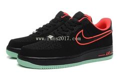 Nike Air Force 1 Low Men Black Red Mint [AirForce1-10118] - $60.95 : | nike and adidas sports shoes online store | Scoop.it