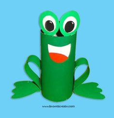 Ti vuoi divertire e realizzare qualcosa di carino oggi? Guarda questa allegra rana; facile, veloce e richiede poco materiale. Per realizzarla ti occorre un
